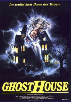 Horror movie villains and posters on pinterest horror movies horror movie posters and trick for Classic haunted house movies