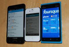 El Nokia Lumia 900 comparado con el iPhone 4S y el Samsung Galaxy S II
