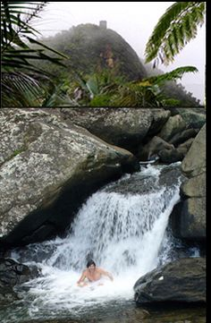 El Yunque or Rainforest in Puerto Rico. So beautiful && Hiking up to the waterfall is must