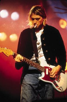 Kurt Cobain - sorely missed, but his musical legacy lives on