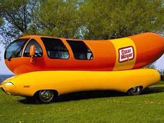 Ride in or drive the Oscar Meyer Wiener Mobile. (DONE)