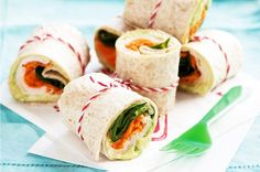 Mini Salad Wraps