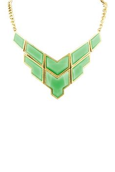 Empress Necklace by Top It Off: Vibrant Jewelry Shop on @HauteLook