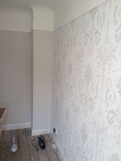 Bedroom wallpaper #Anthropologie #PinToWin