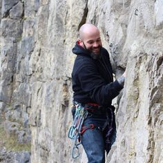Look at that face, HB Climber Peter Isaac, is happy to be out on the rocks #climbing #rockclimber #sportclimbing