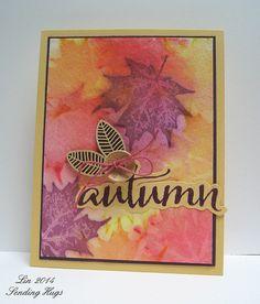 Lin Brandyberry: Sending Hugs - I Love Autumn! - 8/21/14