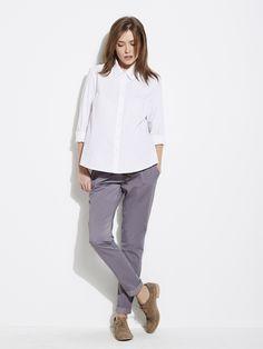 #Pantalon #toile esprit #chino Future #Maman - Collection Colline automne hiver 2014 - www.vertbaudet.fr