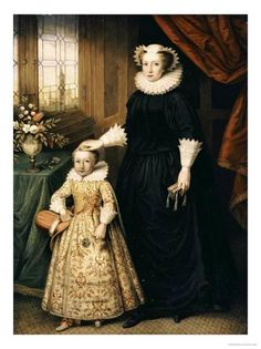 Maria Stuart, Queen of Scots - and her son James I - Mary was beheaded at the order of Queen Elizabeth I. Mary's son James as closest heir goes on to succeed Queen Elizabeth I. Mary Queen Of Scots, Queen Mary, King Queen, Queen Elizabeth, Tudor History, British History, François Ii, Isabel I, Marie Stuart