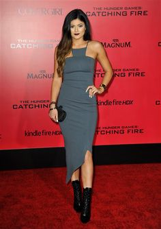 "Kylie Jenner attends the premiere of ""The Hunger Games: Catching Fire"" in Los Angeles on Nov. 18, 2013."