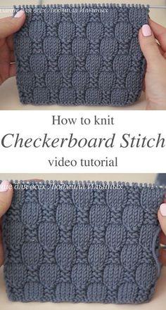 Easy Knitting, Baby Knitting Patterns, Knitting Designs, Knitting Projects, Sewing Patterns, Crochet Patterns, Knitting Sweaters, Knitting Tutorials, Knitting Kits