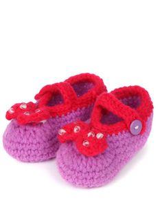 92abe691d7e5 101 Best Crochet baby shoes images