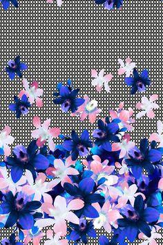 Matthew Williamson PS15 Orchid Basket print