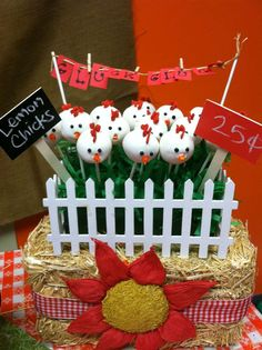 Farm Theme Birthday Party Ideas | Photo 2 of 17 | Catch My Party