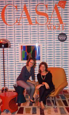 Capa da Revista Casa Vogue 2015 Designer Raquel Brum