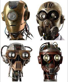 Concept by Manipula Art http://on.fb.me/1dwcaEv #Robot  #steampunk #teslapunk #concept