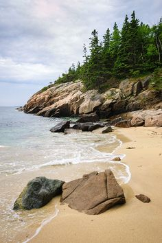 Blackwoods campground in acadia national park, maine is the most popular place to stay with your fam Acadia National Park Camping, Acadia Camping, Tent Camping, Hiking Tent, Camping Tips, Hiking Trails, That Way, Places To See, Adventure Travel