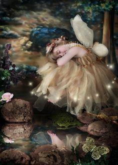 Golden Fairy Enchanted fairy ware. $150.00, via Etsy.