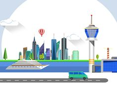 """Check out new work on my @Behance portfolio: """"World Travel - Flat designed After Effects project"""" http://be.net/gallery/54278319/World-Travel-Flat-designed-After-Effects-project"""