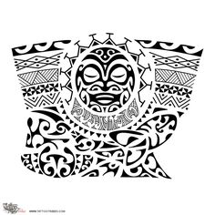 Tahitian Tattoos Drawings | Samoan Tattoo Maori Inspired Designs And Tribal Tattoos Images