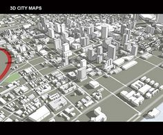 3D City Map 2 by RE BackOffice, via Flickr