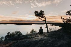 Suomen kauneimmat maisemat - 12 näkymää, jotka on koettava Helsinki, Day Trips, Finland, Nature Photography, Celestial, Sunset, Outdoor, Future, Sunsets