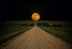 Super moon South Dakota