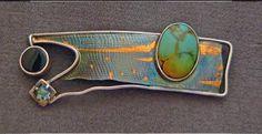 jan van diver's brooches and pins