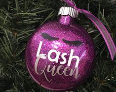 Lash Queen Christmas Ornament