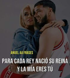 Anuel Aa Quotes, Qoutes, Oh Love, Crazy Love, Spanish Quotes, Good To Know, Couple Goals, Youtubers, Knowledge