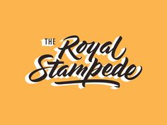 The Royal Stampede Original: http://ift.tt/1cKe9bH