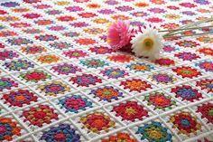 My Granny Square Blanket!!