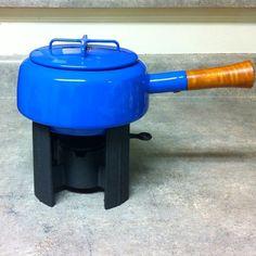 Fondue pot by Jens Quistgaard for Dansk.  Fondue pot is a must for modernists.