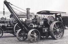 Burrell steam engine