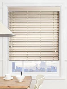 This gorgeous blind has been specifically made to reduce light leakage with a slot-free design, guaranteed to keep your room shaded and your privacy protected. #wooden #venetian #blinds