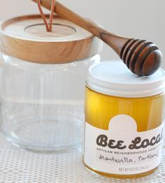 Beautiful Honey Packaging // Bee Local Honey - Alder & Co.
