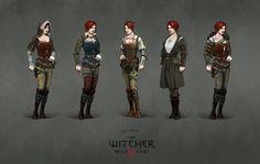 ArtStation - The Witcher 3 concept art, Jan Marek