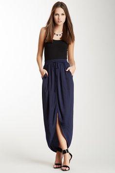 HauteLook | Rebecca Taylor: Rumpled Satin Skirt
