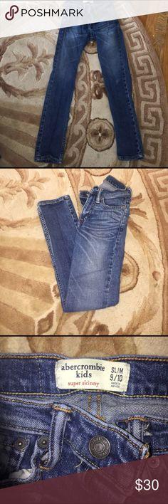 Boys Jeans Kids blue jeans style super skinny abercrombie kids Bottoms Jeans