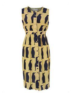 CHARLOTTE TAYLOR : DR-02 Winter Penguin Print Shirt Dress | Sumally (サマリー)