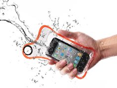 BubbleShield Re-Useable Waterproof Sleeves.  Get ready for the beach!
