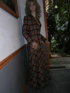 Vintage Woman's ~Skirt ~Jacket ~ Suit   John Meyer Houndstooth size 14