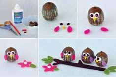Acorn Owls - Acorn Crafts & DIY Acorn Craft Ideas