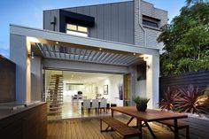 vergola Outdoor Pavillion, Alfresco Area, Outdoor Living Rooms, House Yard, Building A New Home, Pergola Shade, Outdoor Areas, Patio Design, New Homes