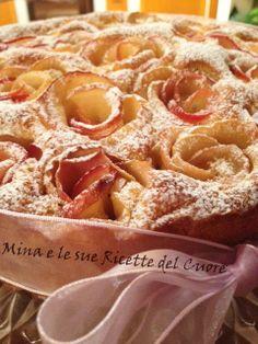Mina e le sue Ricette del Cuore: Torta con rose di mele Florina