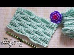 "Видео урок: Узор крючком ""Зефирка"". Мастер-класс. How to crochet The Marshmallow stitch Free Pattern - YouTube"