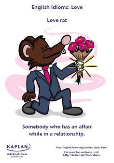 English Idioms - Love rat