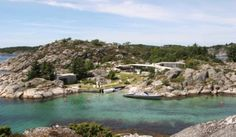 Se den spektakulære hytta på Lyngholmen utenfor Kristiansand.