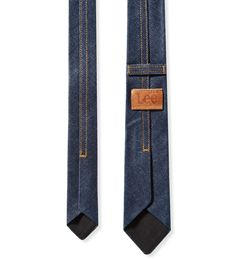 #Denim Tie #Lee