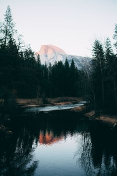 "mystic-revelations: ""Half Dome at Sunset By Kyle Sipple """