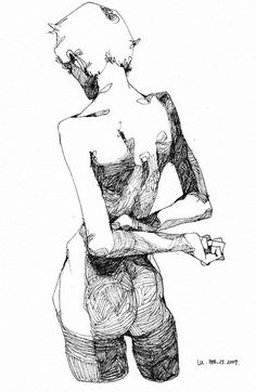 Creative Jpg, and Illustration image ideas & inspiration on Designspiration Life Drawing, Drawing Sketches, Painting & Drawing, Art Drawings, Drawing Tips, Anatomy Drawing, Anatomy Art, Figure Sketching, Figure Drawing